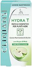 Voňavky, Parfémy, kozmetika Čistiace náplasti na tvár - Clinians Hydra T Pach C Punti Neri Clinians