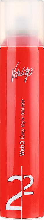 Mušt na zahustenie vlasov - Vitality's We-Ho Easy Style Mousse