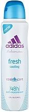 Voňavky, Parfémy, kozmetika Deodorant - Adidas Anti-Perspirant Fresh Cooling 48h