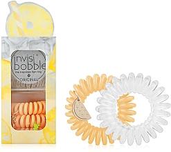 Voňavky, Parfémy, kozmetika Sada gumičiek do vlasov - Invisibobble Original Happy Hour Just Pine