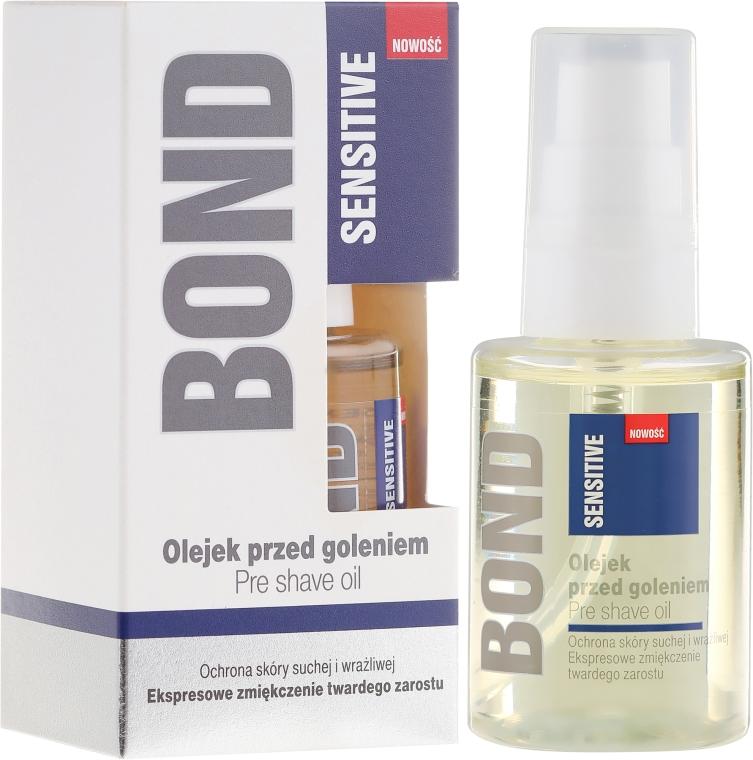 Olej pred holením - Bond Sensitive Pre Shave Oil