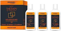 Voňavky, Parfémy, kozmetika Sada - Prosalon Hot Therapy (mask/50ml + shm/50ml + cond/50ml)