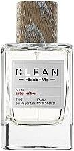 Voňavky, Parfémy, kozmetika Clean Reserve Ambre Saffron - Parfumovaná voda