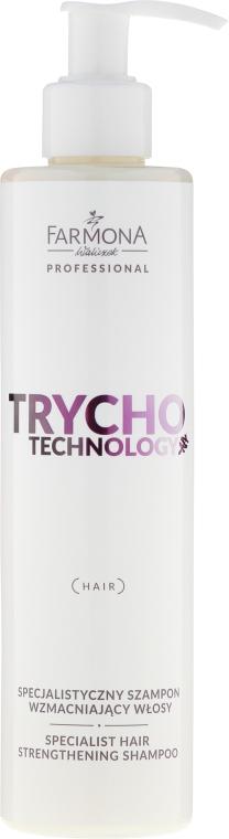 Špecializovaný šampón pre spevnenie vlasov - Farmona Trycho Technology Specialist Hair Strengthening Shampoo