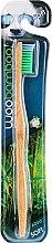 Voňavky, Parfémy, kozmetika Zubná kefka mäkký stupeň tvrdosti, zelená - Woobamboo Adult Standard Handle Toothbrush Soft