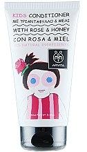 Voňavky, Parfémy, kozmetika Detský kondicionér s ružou a medom - Apivita Babies & Kids Natural Baby Kids Conditioner With Honey & Rose Bulgarian