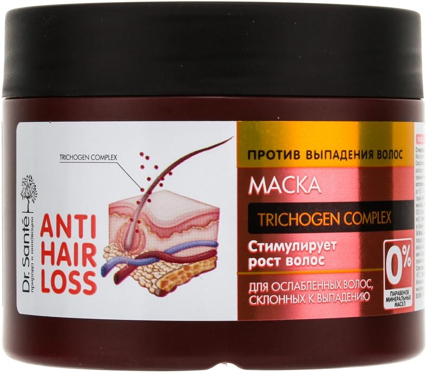 Maska pre oslabené vlasy a náchylné k vypadávaniu - Dr. Sante Anti Hair Loss Mask