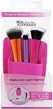 Voňavky, Parfémy, kozmetika Organizér na štetce, ružový - Real Techniques Single Pocket Expert Beauty Organizer Pink