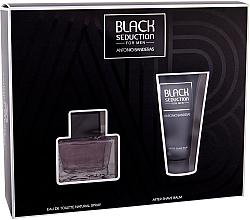 Voňavky, Parfémy, kozmetika Antonio Banderas Seduction in Black - Sada (edt/50ml + a/sh/b/50ml)