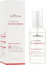 Voňavky, Parfémy, kozmetika Esencia na tvár s kyselinou mliečnou a kyselinou glykolovou - IsNtree Clear Skin 8% Aha Essence