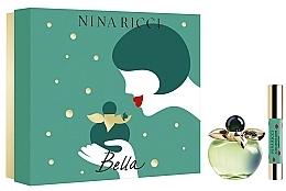 Voňavky, Parfémy, kozmetika Nina Ricci Bella - Sada (edt/80ml + lipstick)