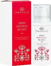Voňavky, Parfémy, kozmetika Výživný nočný krém na tvár - Rosadia
