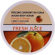 Voňavky, Parfémy, kozmetika Cukorový telový peeling - Fresh Juice Orange and Mango