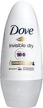 """Voňavky, Parfémy, kozmetika Antiperspirant guľôčkový """"Neviditeľný"""" - Dove Invisible dry 48H"""