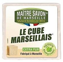 Voňavky, Parfémy, kozmetika Mydlo - Maitre Savon De Marseille Le Cube Marseillais Extra Pur Soap Bar