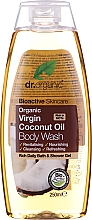 Voňavky, Parfémy, kozmetika Organický čistiaci prostriedok na telo s kokosovým olejom - Dr. Organic Bioactive Skincare Organic Coconut Virgin Oil Body Wash