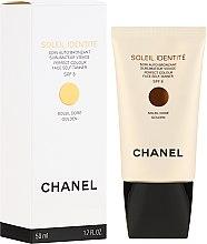 Voňavky, Parfémy, kozmetika Prostriedky na opaľovanie - Chanel Soleil Identite SPF 8 Dore Golden