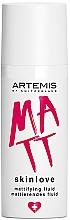 Voňavky, Parfémy, kozmetika Zmatňujúci fluid - Artemis of Switzerland Skinlove Mattifying Fluid