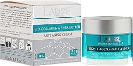 Voňavky, Parfémy, kozmetika Krém proti vráskam s kolagénom a bambusovým máslom karite 55+ - Ava Laboratorium L'Arisse 5D Anti-Wrinkle Cream Bio Collagen + Shea Butter