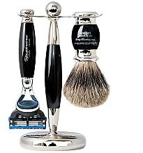 Voňavky, Parfémy, kozmetika Sada - Taylor of Old Bond Street Fusion (razor/1szt + sh/brush/1szt + stand/1szt)