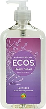 Voňavky, Parfémy, kozmetika Organické mydlo na ruky Levanduľa - Earth Friendly Ecos Hand Soap Lavender Description