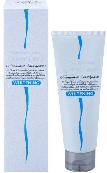 Bieliaca zubná pasta - VitalCare White Pearl NanoCare Whitening Toothpaste — Obrázky N1