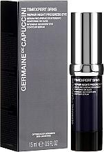 Voňavky, Parfémy, kozmetika Regeneračné sérum na viečka - Germaine de Capuccini Timexpert SRNS Repair Night Progress Eye