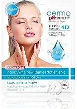 Voňavky, Parfémy, kozmetika Maska na tvár - Dermo Pharma Skin Repair Expert Skin Lightening Face Mask 4D