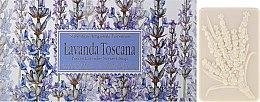 """Voňavky, Parfémy, kozmetika Sada toaletného mydla """"Toskánska levanduľa"""" - Saponificio Artigianale Fiorentino Lavender Toscana"""