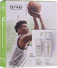 Voňavky, Parfémy, kozmetika Sada - STR8 Fresh Recharge (deo/spray/150ml + sh/gel/400ml)