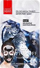 """Voňavky, Parfémy, kozmetika Maska pre tvár """"Gél na umývanie + exfoliačná maska"""" - Czyste Piekno Peel Off Mask"""