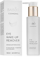 Voňavky, Parfémy, kozmetika Odličovací lotion očného make-upu - Babor Cleansing Eye Make up Remover