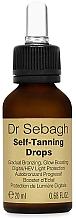 Voňavky, Parfémy, kozmetika Samoopaľovacie kvapky  - Dr Sebagh Self-Tanning Drops