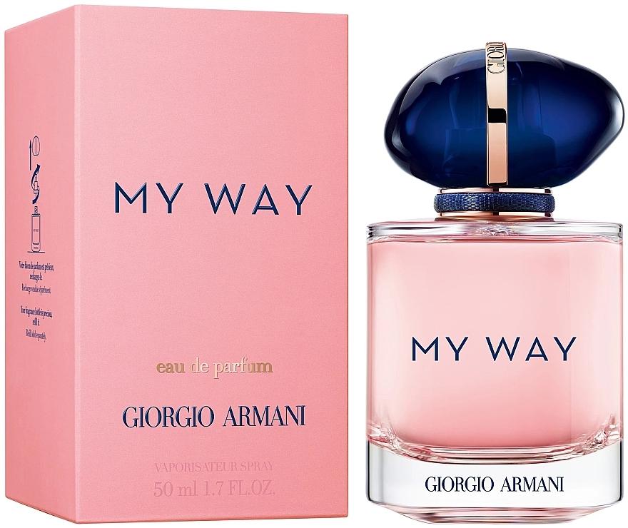 Giorgio Armani My Way - Parfumovaná voda — Obrázky N3