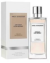 Voňavky, Parfémy, kozmetika Angel Schlesser Les Eaux d'un Instant Vibrant Sandalwood - Toaletná voda