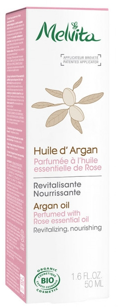 Organický arganový olej - Melvita Organic Nourishing Argan Oil Perfumed With Rose Essential Oil — Obrázky N1