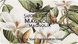 """Voňavky, Parfémy, kozmetika Prírodné mydlo """"Magnólia"""" - Florinda Sapone Vegetale Magnolia"""