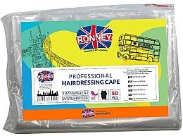 Voňavky, Parfémy, kozmetika Jednorazové kadernícke pláštenky - Ronney Professional Hairdressing Cape