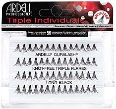 Voňavky, Parfémy, kozmetika Súprava rias - Ardell Triple Individual Long Black