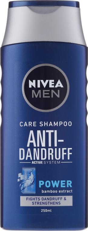 """Šampón """"Posilňujúci"""" proti lupinám pre mužov - Nivea For Men Anti-Dandruff Power Shampoo — Obrázky N2"""