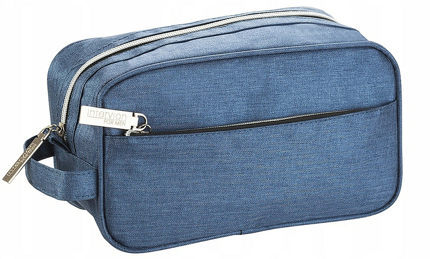 Pánska kozmetická taška a organizér, svetlo modrá - Inter-Vion