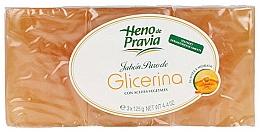 Voňavky, Parfémy, kozmetika Sada - Heno De Pravia Glycerin (3 x soap/125g)