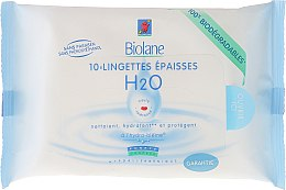 Voňavky, Parfémy, kozmetika Detské obrúsky obohatené - Biolane Baby H2O Napkins