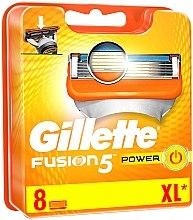 Voňavky, Parfémy, kozmetika Vymeniteľné kazety na holenie, 8 ks - Gillette Fusion Power