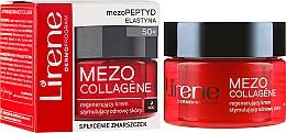 Voňavky, Parfémy, kozmetika Nočný regeneračný krém na tvár - Lirene Mezo Collagene