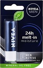 Voňavky, Parfémy, kozmetika Balzam na pery - Nivea Men Active Care SPF 15