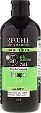 Voňavky, Parfémy, kozmetika Šampón a kondicionér pre mužov - Revuele Men Charcoal + Green Tea 2in1 Shampoo