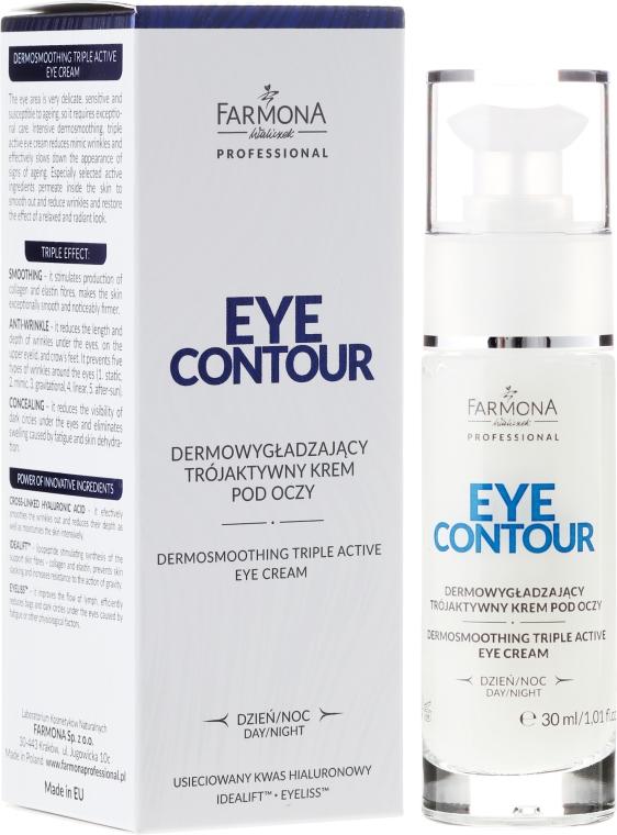 Triaktivny krém pre pleť okolo očí - Farmona Eye Contour