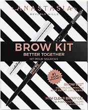 Voňavky, Parfémy, kozmetika Sada - Anastasia Beverly Hills Better Together Brow Kit Soft Brown (pencil/0.08g + gel/2.5g)