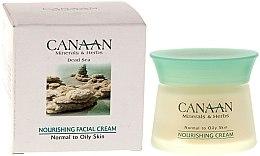 Voňavky, Parfémy, kozmetika Výživný krém pre normálnu a mastnú pleť - Canaan Minerals & Herbs Nourishing Facial Cream Normal to Oily Skin